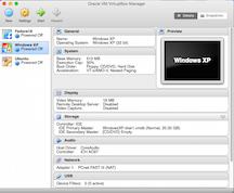 Mac OS X - VirtualBox2