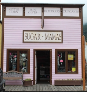 USA, Alaska, Skagway - Sugar Moma's
