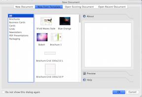 FOSS Under Mac OS X - Scribus1