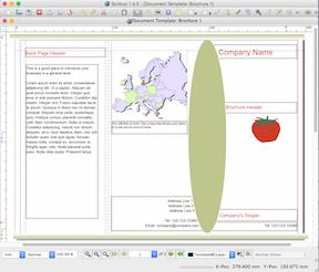 FOSS Under Mac OS X - Scribus2