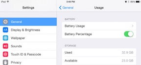 iOS Tip - Showing Remaining Battery Percentage-proc