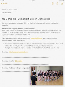 iOS 9 iPad Tip - Using Split-Screen Multitasking-4