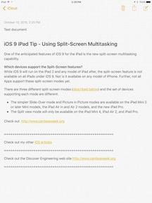 iOS 9 iPad Tip - Using Split-Screen Multitasking-5