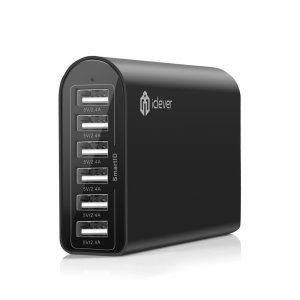 iClever 6-Port USB Wall Charger