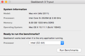 System Benchmarking with Geekbench