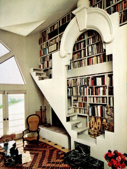 april-1981-book-shelves-stairs-home