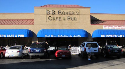 USA, Texas, Austin - BB Rover's Cafe & Pub