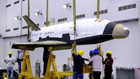 isro space shuttle 1
