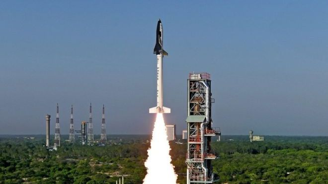 India Launches its Own Space Shuttle