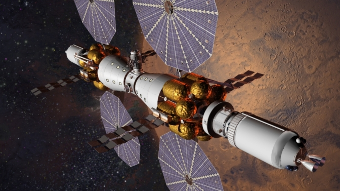 Mars Space Station in the Works