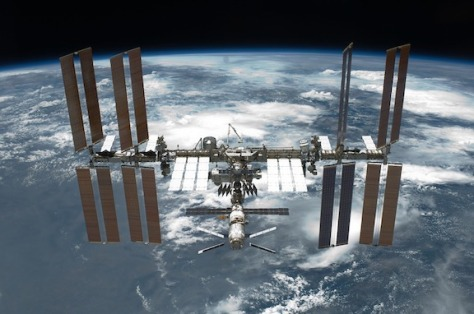 Space Travel Space International Space Station Iss