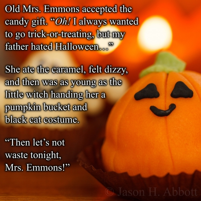 Fifty Word Fantasy: Trick and Treat