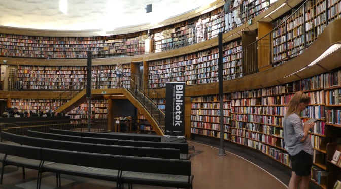 A visit to Stockholm Public Library