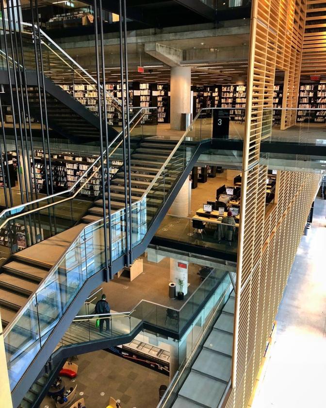 Grande Bibliothèque – Montreal, Quebec, Canada