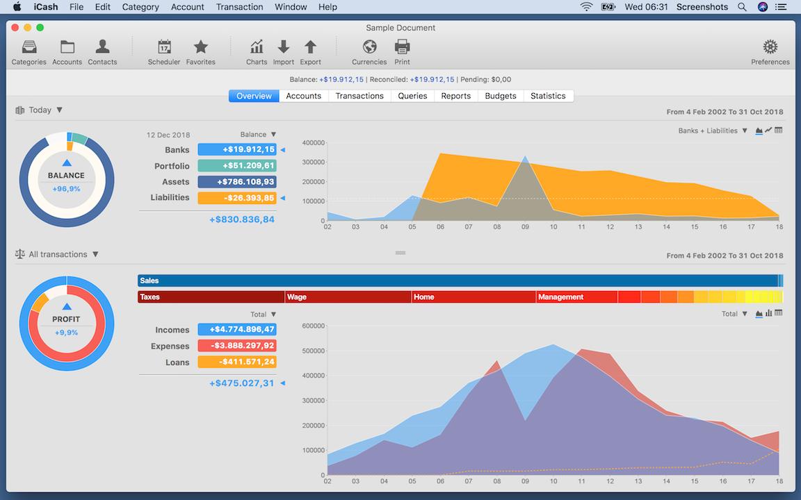 Personal Finance Software - maxprog.com